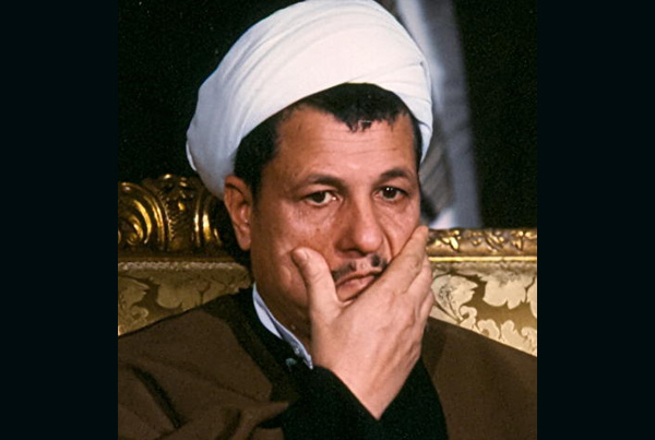 Iranian Hashemi Rafsanjanni, Algiers, Algeria