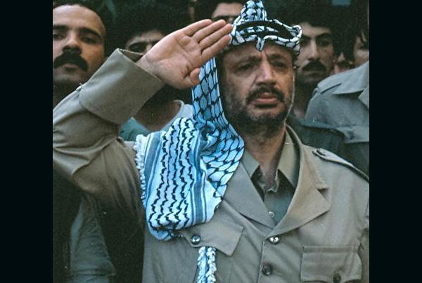 Yassir Arafat, Beirut Lebanon