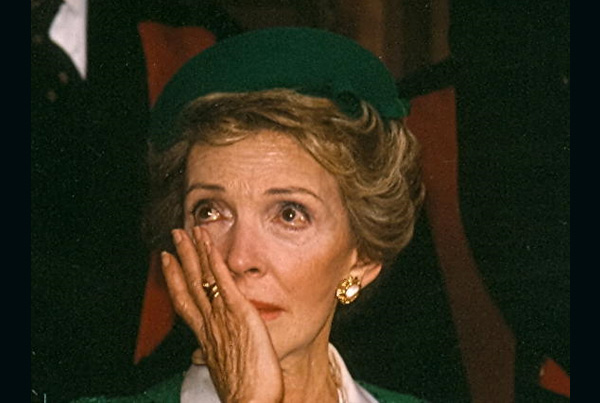 Nancy Reagan, London, England